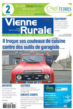 La couverture du journal La Vienne Rurale n°2614 | octobre 2018
